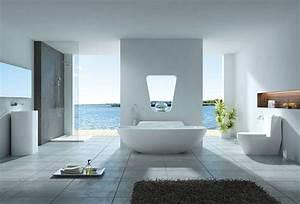 Badezimmer Mit Freistehender Badewanne : badzimmer a v e n o ~ Bigdaddyawards.com Haus und Dekorationen