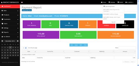 simple invoice manager invoicing  easy  tecdiary