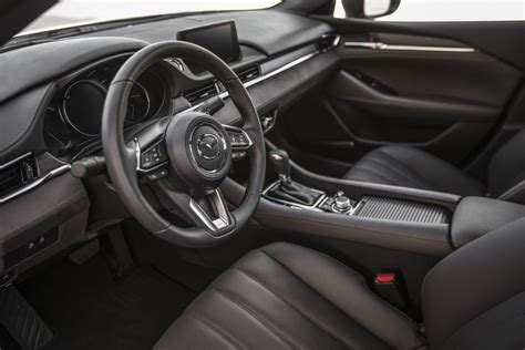 mazda 6 2019 interior 2019 mazda 6 sedan nappa leather crafted interior