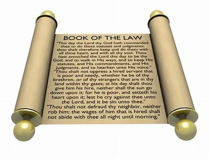 Law God Moses Laws Scroll Bible Gods