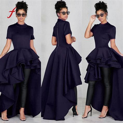 Dress Plus Size Short Sleeve Women Elegant Summer