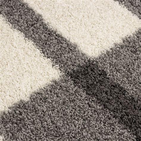 hochflor teppich hellgrau hochflor langflor wohnzimmer shaggy teppich florh 246 he 3cm grau weiss hellgrau