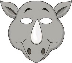 Jungle Animal Mask Template Printables