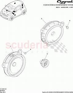 Aston Martin Cygnet Speakers Parts