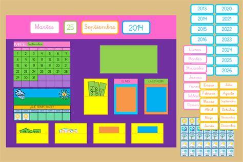Te ofrecemos juegos interactivos en los que tendrás que ir haciendo click al mismo tiempo que descubres un montón de cosas. Calendario Educativo - Imprimible Gratis - Creciendo Con ...