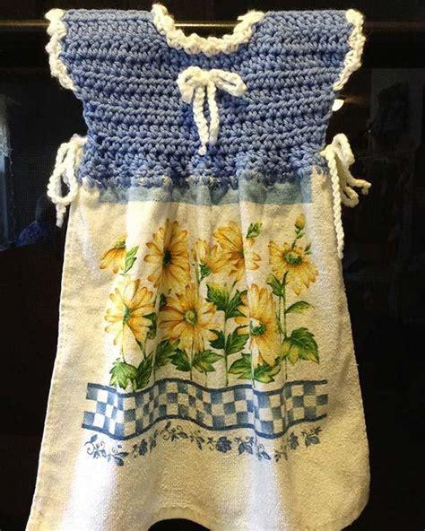 Oven Door Dress, Potholder, and Fridgie Crochet Patterns