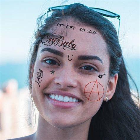 lil peep temporary tattoo set tattoo icon