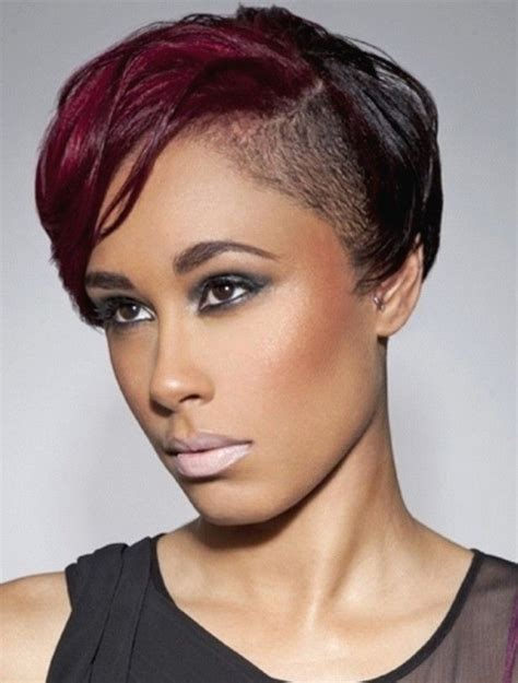 half shaved head short hairstyles for girls hair nos