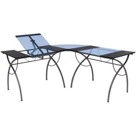 walmart ls table studio designs split top ls workcenter pewter