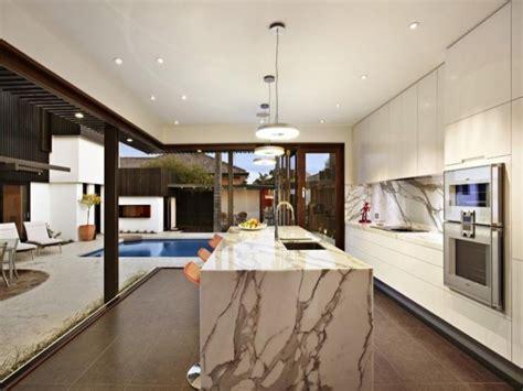 modern marble kitchen designs