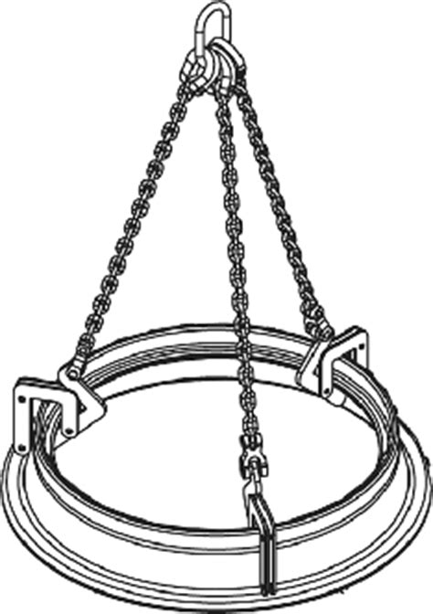 Manhole Sleeve Lifter — Caldwell Group Lifting Solutions