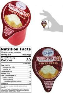 Image result for cold stone coffee creamer international delight cold stone creamery sweet cream. International Delight Mini Cold Stone Creamery Sweet Cream Coffee 50 count   eBay