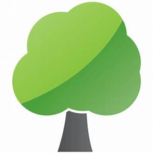 Pics For > Green Tree Icon