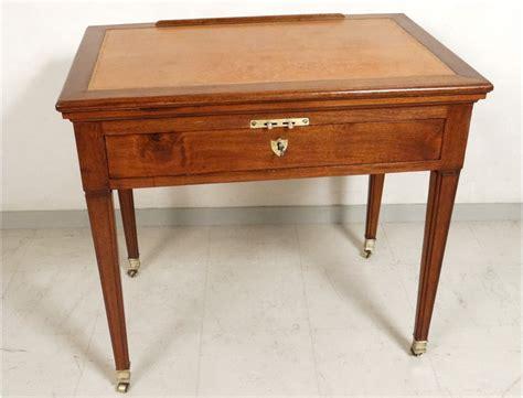 bureau directoire superbe table à la tronchin bureau directoire acajou cuir