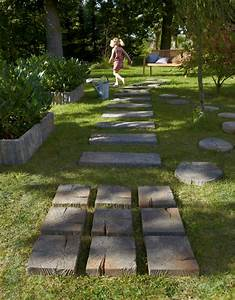 3 idees pour amenager son allee de jardin travauxcom With idee pour amenager son jardin