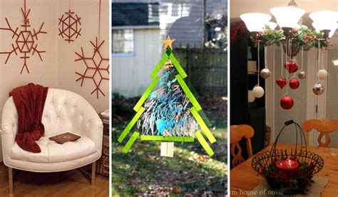 36 Creative Diy Christmas Decorations You Can Make In