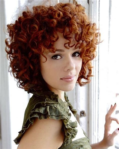 permed hairstyles  short hair   curly