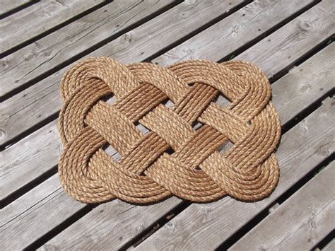 rope doormats great gatsby square doormat by s rope work