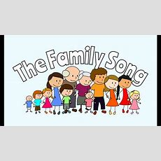 Family Members Song For Kids!  Esl English Learning Song Youtube