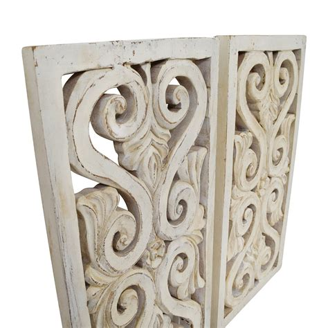 71% Off  Distressed White Wood Wall Sculpture  Decor. Kitchen Themes Decor. Puppy Birthday Party Decorations. Front Living Room Fifth Wheels. Decorative Mailboxes For Sale. Buy Cheap Decorative Pillows. Hipster Room Decor. Escape Room Ny. Beautiful Living Room Decorating Ideas