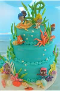 Bubble Guppy Cake Decorations