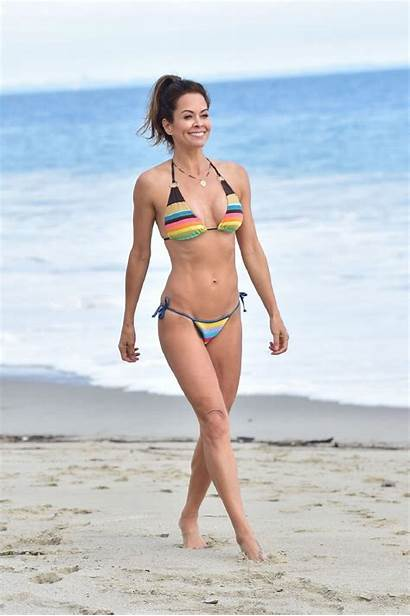 Burke Brooke Bikini Malibu Beach App Photoshoot