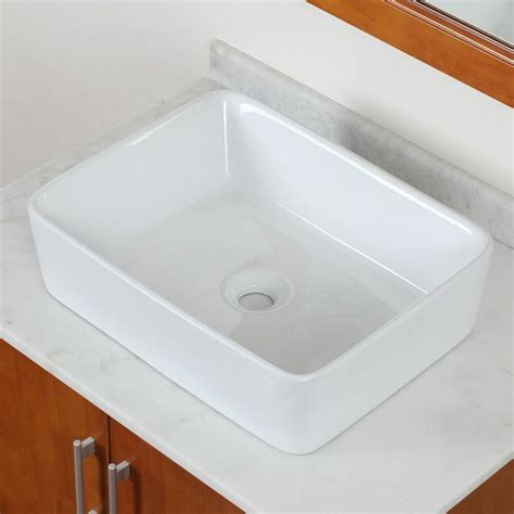 New Bathroom Sink by Brand New Bathroom White Square Ceramic Porcelain Vessel