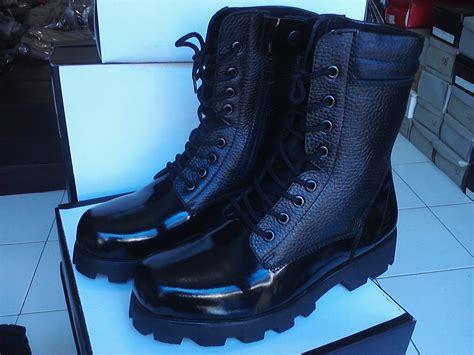 boots kulit sepatupdl sepatu pdl pdh boots safety pormal grosir