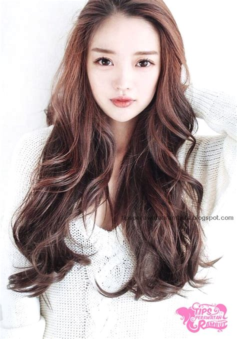 model potongan rambut wanita ala korea