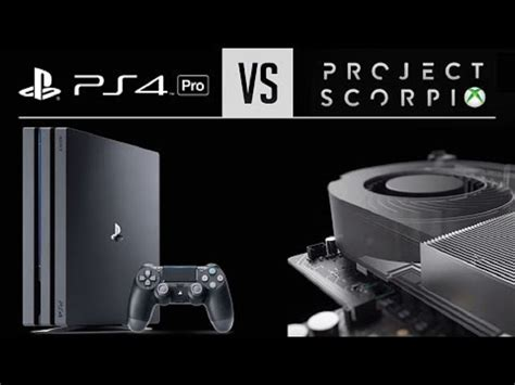xbox 1 scorpio ps4 pro vs xbox one scorpio which console will emerge the most powerful