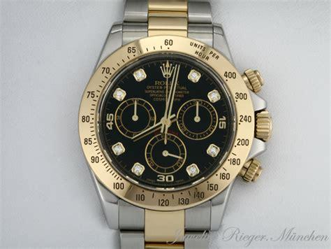 rolex gold diamanten herren rolex daytona stahl gold 750 chronograph diamanten ebay