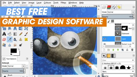 Best Free Graphic Design Software (free Downloads) Youtube