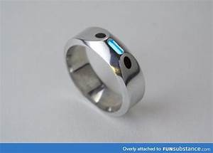 pin by nyghte shadow on accessory wish list pinterest With tritium wedding ring