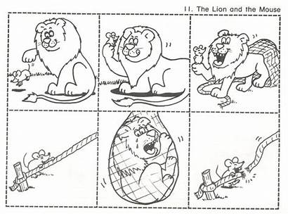 Lion Mouse Kindergarten Activities Sequencing Fairy Tales
