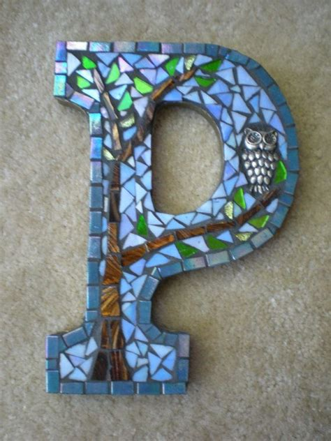 mosaic letters  words images  pinterest mosaics mosaic projects  mosaic ideas