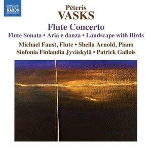 CD: Flöjtmusik av Pēteris Vasks   Kulturdelen