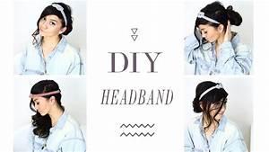 Stirnband Selber Machen : diy haarband selber machen headband haarschmuck stirnband youtube ~ Watch28wear.com Haus und Dekorationen