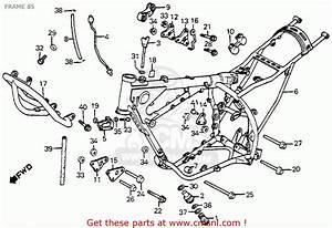Honda Xr350r 1985 Usa Frame 85