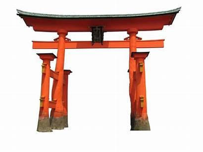 Gate Transparent Japanese Torii Shrine Clipart Japan