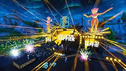 Marshmello Fortnite Concert Wallpapers Event L2pbomb Happier