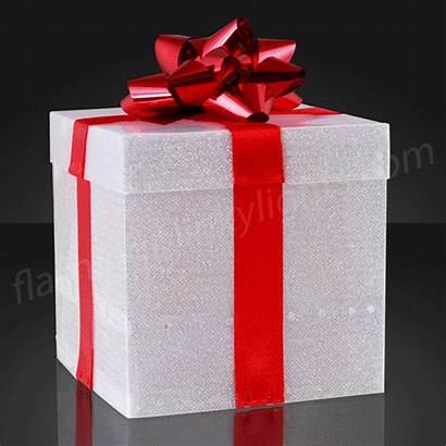 Gift Open Led Boxes Birthday Easy Gifs