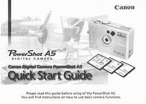 Canon A5 User Manual