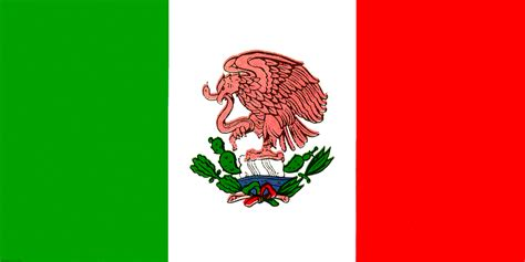 what color is the mexican flag origin of mexican flag