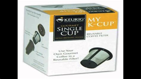 Free shipping on all orders over $35. Keurig My K Cup Reusable Coffee Filter 3 piece Set in ...
