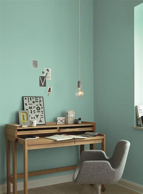 Passende Farben Zu Anthrazit by Ideen F 252 R Die Wandfarbe Im Arbeitsszimmer Alpina Farbe