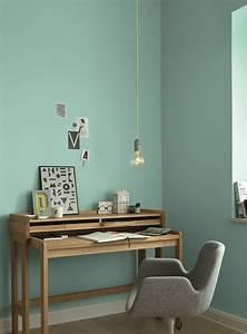 Wandfarbe Für Wohnzimmer : ideen f r die wandfarbe im arbeitsszimmer alpina farbe einrichten ~ One.caynefoto.club Haus und Dekorationen