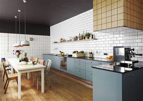 white subway tile kitchen designs  incredibly universal