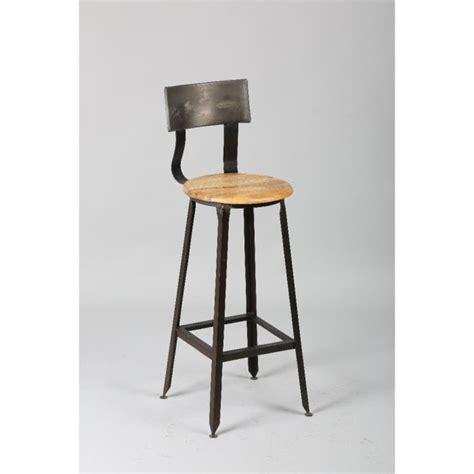 cdiscount chaise de bar chaise de bar olympe en acier vieilli achat vente
