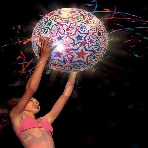 Light Up Large Beach Ball Swimming Pool Toy