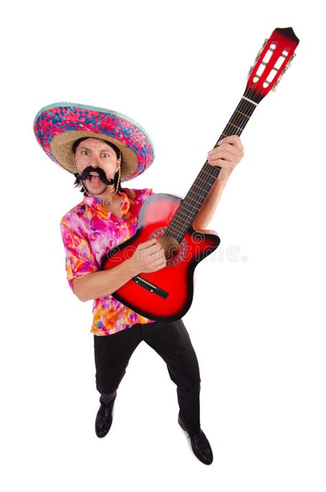 mexican guitar player stock image image  jazz artist